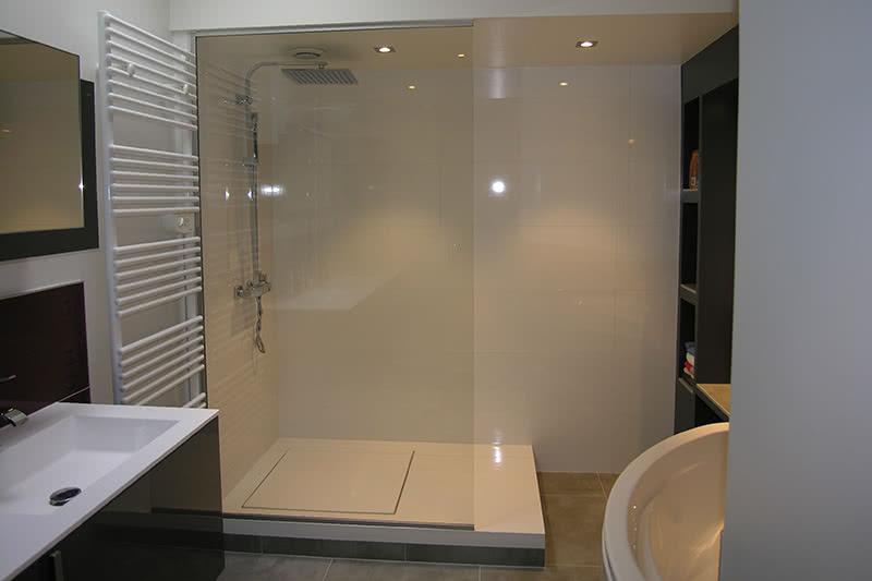 salles de bains après